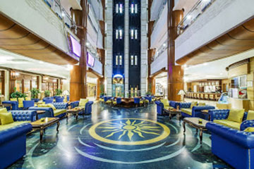 Stay at the Grand Excelsior Hotel, Dubai